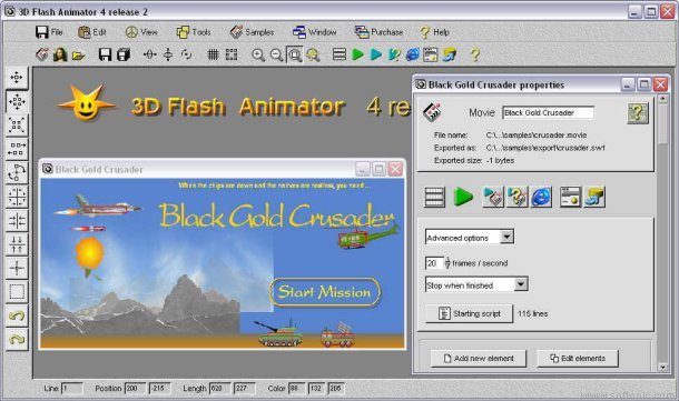 bajar 3D Flash Animator Gratis